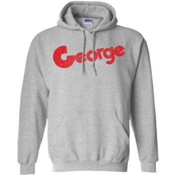 Retro Girard Bank George Card Inspired Pullover Hoodie