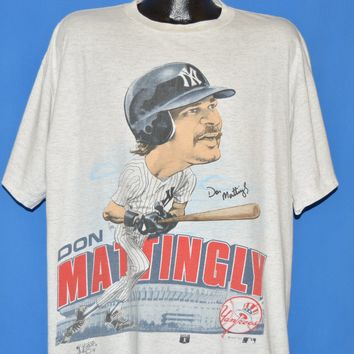 80s New York Yankees Don Mattingly t-shirt Extra Large