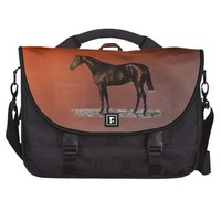 Brown Horse Laptop Bag