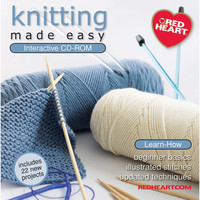 Knitting Made Easy Interactive CD-ROM-