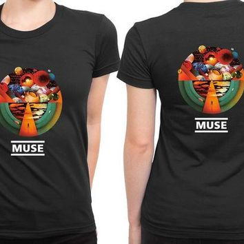 ONETOW Muse Exogenesis Fan Art 2 Sided Womens T Shirt