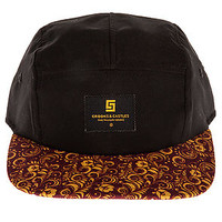 The Sultana 5 Panel in Black
