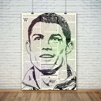 Cristiano Ronaldo typography magazine, (Instant Download) , 300 dpi, Popular Digital Art, Decoration, Poster