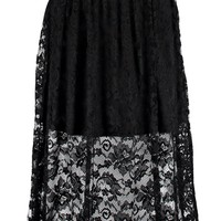 Kate Full Lace Midi Skater Skirt