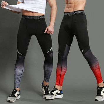 Couples fitted Running Tights Men Sports Leggings Sportswear Long Trousers Yoga Pants Winter Fitness Compression Sexy Gym Slim