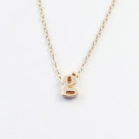 Saba Necklace - solid gold