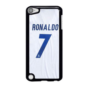 RONALDO CR7 JERSEY REAL MADRID iPod Touch 5 Case Cover