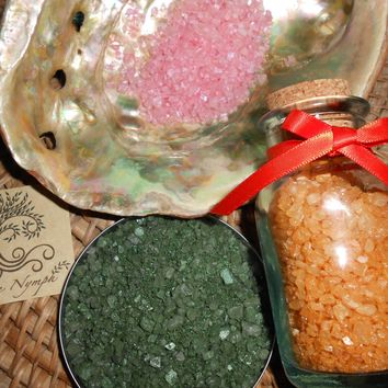 Bath Salts - The OLD WORLD Collection - Pure and Natural - Four Ounces