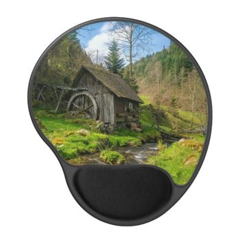 Black Forest Grist Mill Germany Gel Mouse Pad