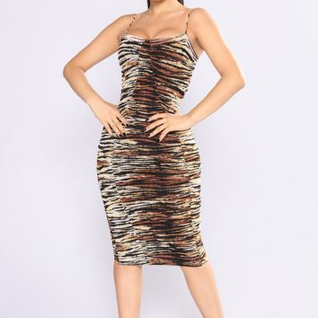Wild Child Leopard Dresses - Leopard