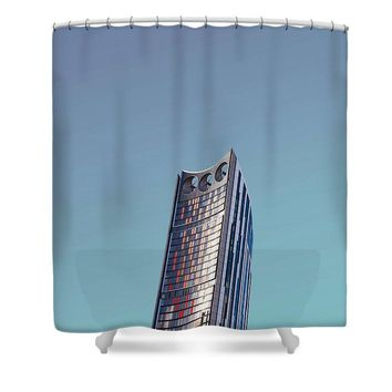 Urban Architecture - Elephant And Castle, London, United Kingdom - Shower Curtain