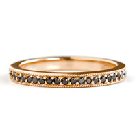Diamond Pave Eternity Band - Grace Lee Designs