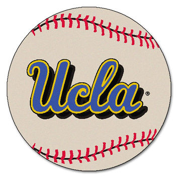 UCLA Bruins NCAA Baseball Round Floor Mat (29)
