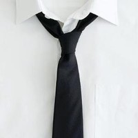 Italian wool suiting tie