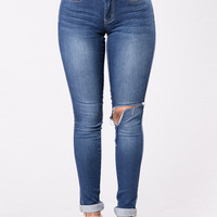 Ready For The Weekend Jeans - Medium