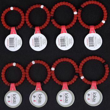 New rose pink lokai Silicone bracelets 47 colors 1-24 Clear Blue Neon Shark Camo Red Purple Lokai bracelet In stock B003