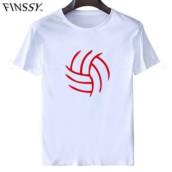 2016 Summer Style T Shirt Men Fashion Volleyballer men's T-Shirt by Spreadshirt Big Size Tees XXXL  Free Shipping