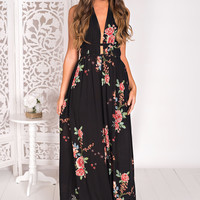 Kissed By You Braided Maxi (Black)