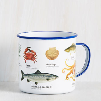 Put the Gears in Ocean Mug