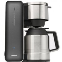 "Panasonic ""Breakfast Collection"" NC-ZF1V Coffee Maker (Grey), Stainless Steel"