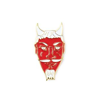 Red Devil Lapel Pin
