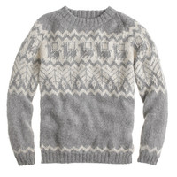 J.Crew Mens Industry Of All Nations Hand-Knit Alpaca Sweater