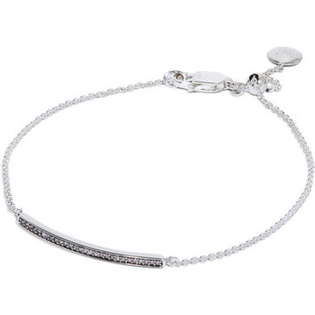 Monica Vinader - Sterling silver diamond bracelet