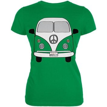 Halloween Travel Bus Costume Camper Wanderlust Juniors Soft T Shirt