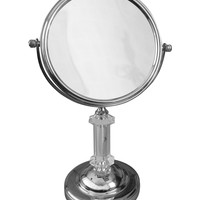 Elegant Home Fashions Roman Freestanding Bath Magnifying Makeup Mirror