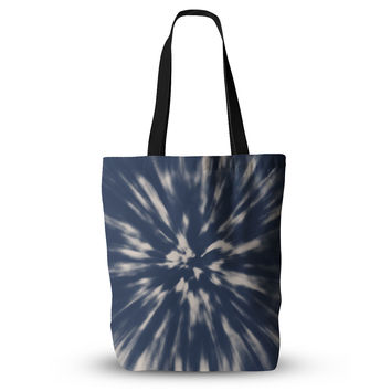 "Nika Martinez ""Indigo Tie Dye"" Blue Urban Everything Tote Bag"