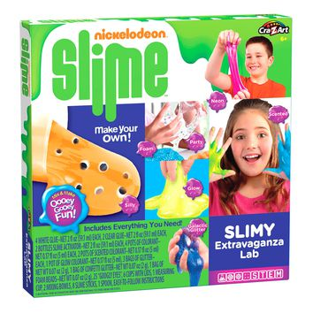Nickelodeon Slime - Cra-Z-Slimy Extravaganza Lab