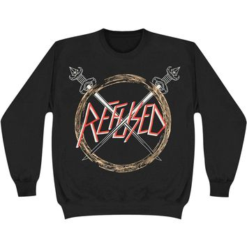 Refused Men's  Slayed Sweatshirt Black