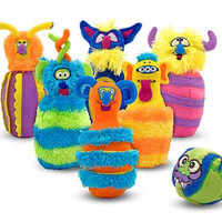 Melissa & Doug Monster Bowling Game For Kids