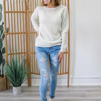 Apple Picking Sweater - Ivory