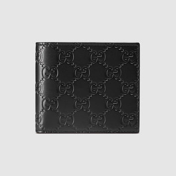Gucci - Gucci Signature wallet with ID window
