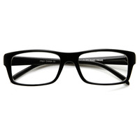 New Square Optical Frame Clear Lens Fashion Glasses 8716