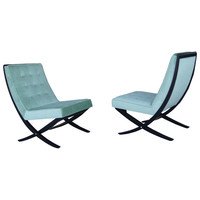Pair of Chairs by Directional, 1960s