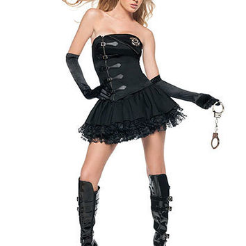 Arrest Me Please Cop Costume | Sexy Clothes Womens Sexy Dresses Sexy Clubwear Sexy Swimwear | Flirt Catalog