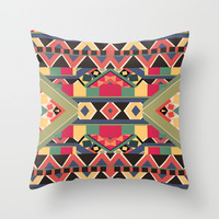 B / O / L / D Throw Pillow by Bianca Green
