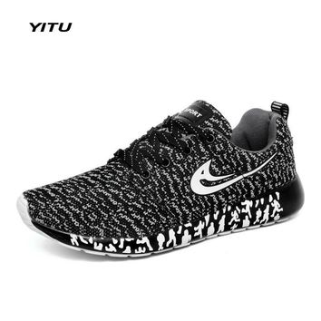 YITU 2017 New Cheap Women and Mens Running Shoes Brand Sneakers Light Weight Sport Sho