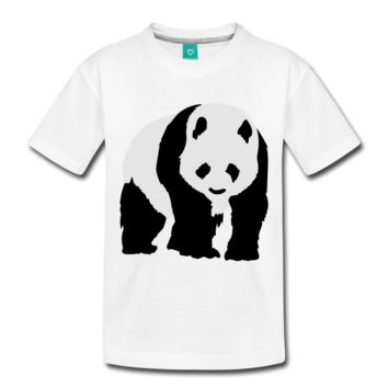 Panda Toddler Premium T-Shirt