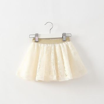 2016 girl baby kids skirt children tutu skirt girls skirts short bottom kids skirt lace china cheap love clothes WJ068