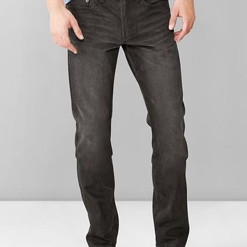 Gap Men 1969 Slim Fit Jeans Black Processed Wash