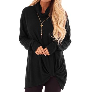 Womens Tops And Blouses Vintage Solid Long Sleeve Blouse 2018 Women Clothes Streetwear Tunic Ladies Tops Fashion Clothing