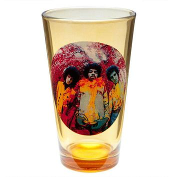 DCCKU3R Jimi Hendrix - Experienced Album Art Pint Glass