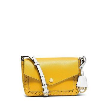 PEAPON MICHAEL Michael Kors Greenswich Small Flap Crossbody