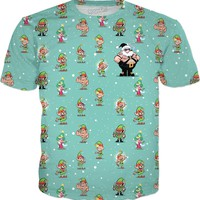 SANTA BEAR • ALL OVER TEE
