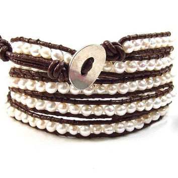 Cora Pearl Beaded Wrap Bracelet