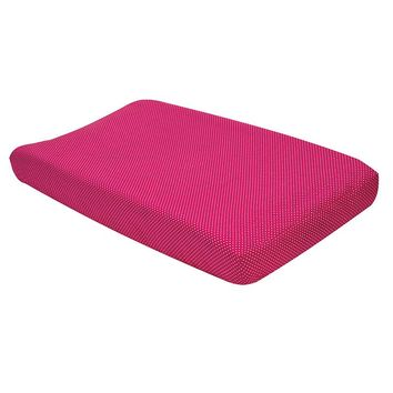 Trend Lab Serena Polka-Dot Changing Pad Cover (Pink)