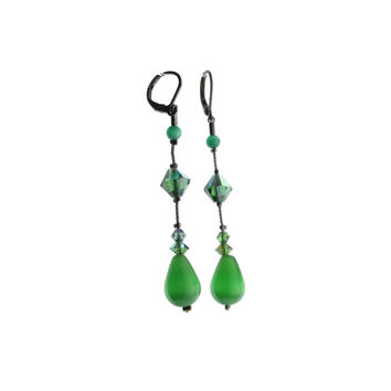 Dabby Reid Womens Hand Crafted Teardrop Dangle Earring